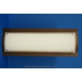 Plafón fluorescente bajo consumo