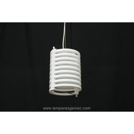 Lámpara Colgante de Metraquilato Blanco 36cm