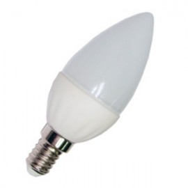 BOMBILLA 5W LED VELA LUZ BLANCA