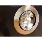 Empotrable halógeno LED niquel satinado