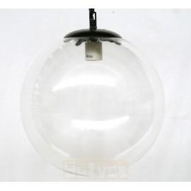 Lámpara Colgante de Cristal Bola Transparente 30cm