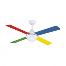 Ventilador de Techo Naif Multicolor 105cm 245RPM