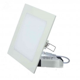 MINI DOWNLIGHT LED 6W CUADRADO BLANCO
