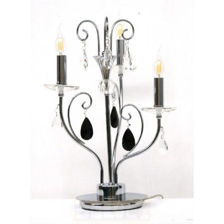 Lampara sobremesa candelabro 3 luces