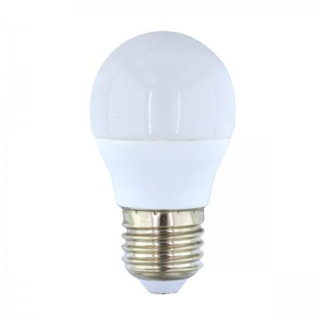 Bombilla LED Esférica 7W E-27 Luz Blanca 5000k 520lm