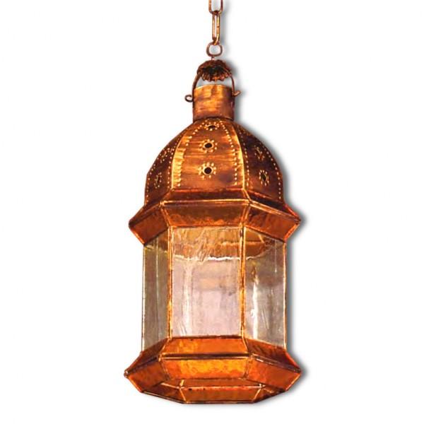 Farol Granadino Estilo Gótico Cristal 6 Caras 48cm