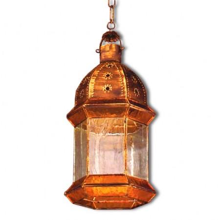Farol Granadino Estilo Gótico Cristal 6 Caras 42cm