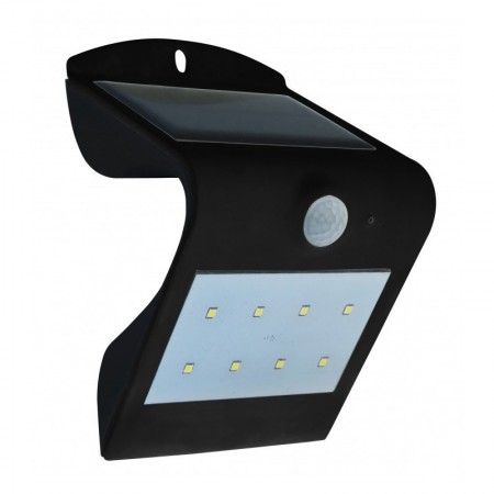 Aplique de Pared Dupi Sol Solar Luz Led Sensor Dual