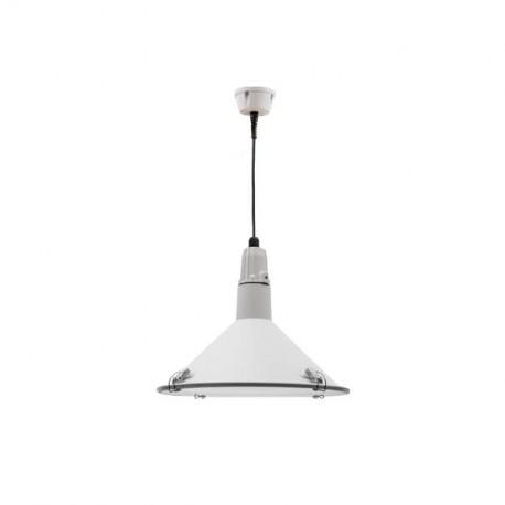 Lámpara Colgante Alejandría Aluminio Estanca Blanca