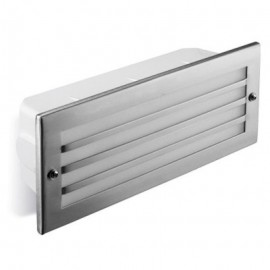 Empotrable para Pared Exterior For Lights Hercules Acero Inox