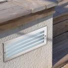 Empotrable para Pared Exterior For Lights Hercules Acero Inox