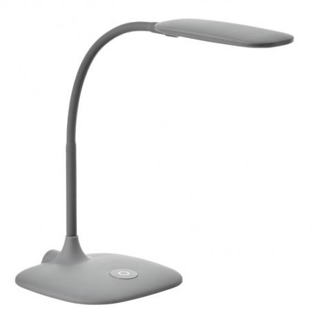 Flexo LED Sobremesa MDC Bet Regulable y Táctil Gris Mate