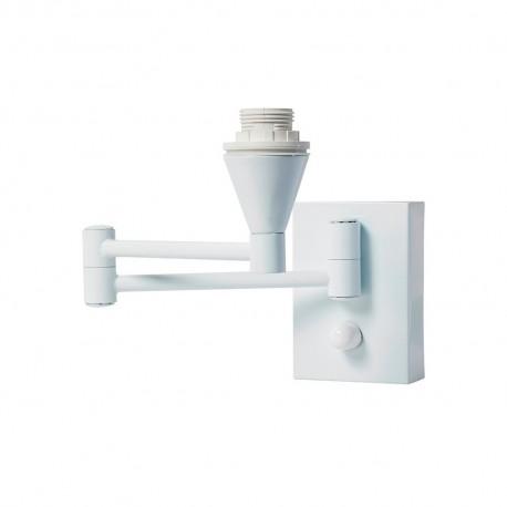 Aplique para Dormitorio Sulion Basic Blanco Articulado