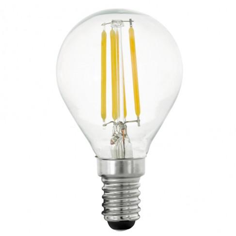 Cálida Bombilla Luz 2 de LED Filamento E14 700K Regulable 4W JclFK1