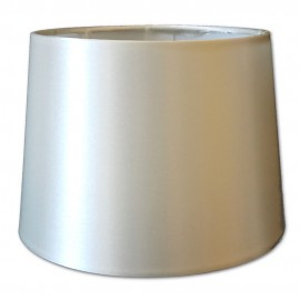 Pantalla para lámparas de Raso Beige 18cm