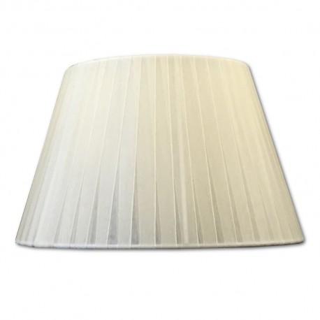 Pantalla Organza Crema 25cm
