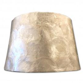 Pantalla para lámpara Nácar Cogida Baja 25cm