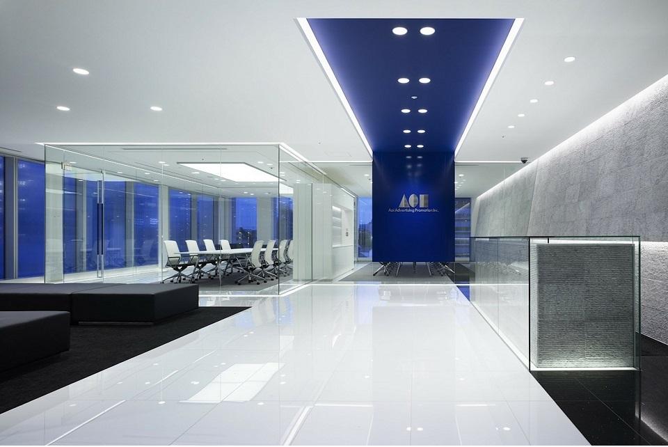 Iluminación general de oficina