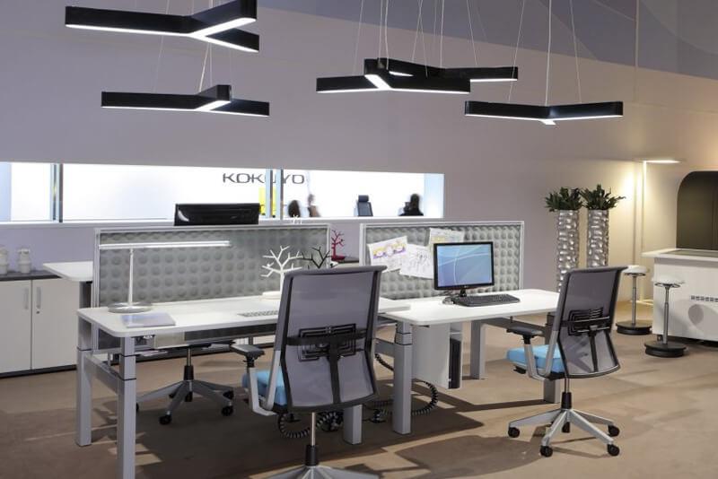 Iluminación para la oficina