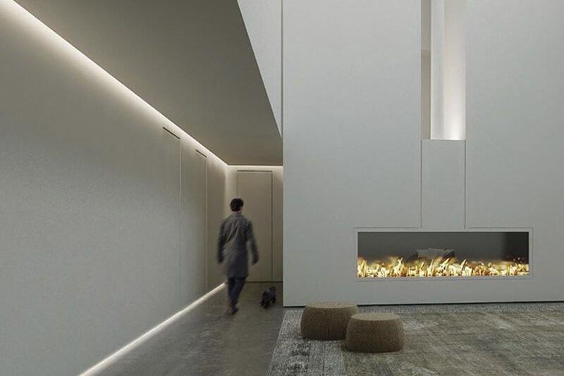 Iluminación para el pasillo